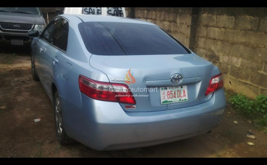 Registered Toyota Camry Muscle
