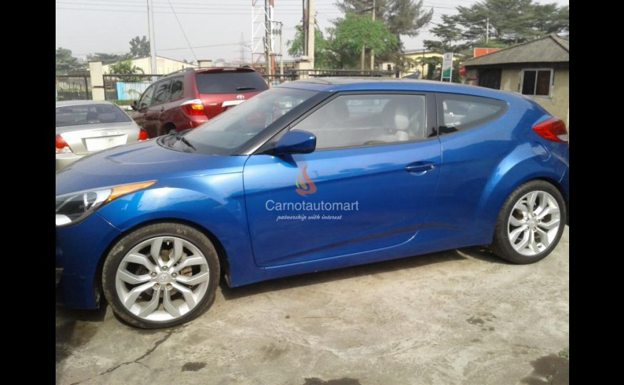 HYUNDAI VELOSTER 2012 MODEL
