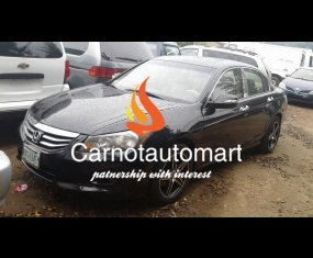 HONDA ACCORD 2011 BLACK