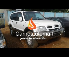 MITSUBISHI MONTERO XLS WHITE 2003 MODE6