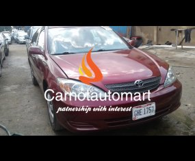 TOYOTA CAMRY WINE 2004 MODEL berger lagos