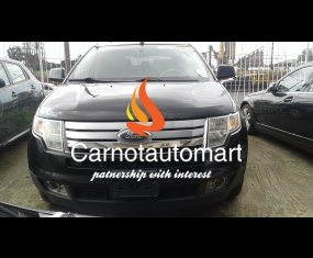 BLACK FORD EDGE LIMITED EDITION 2008