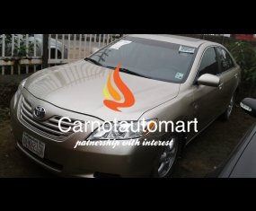 GOLD TOYOTA CAMRY 2008