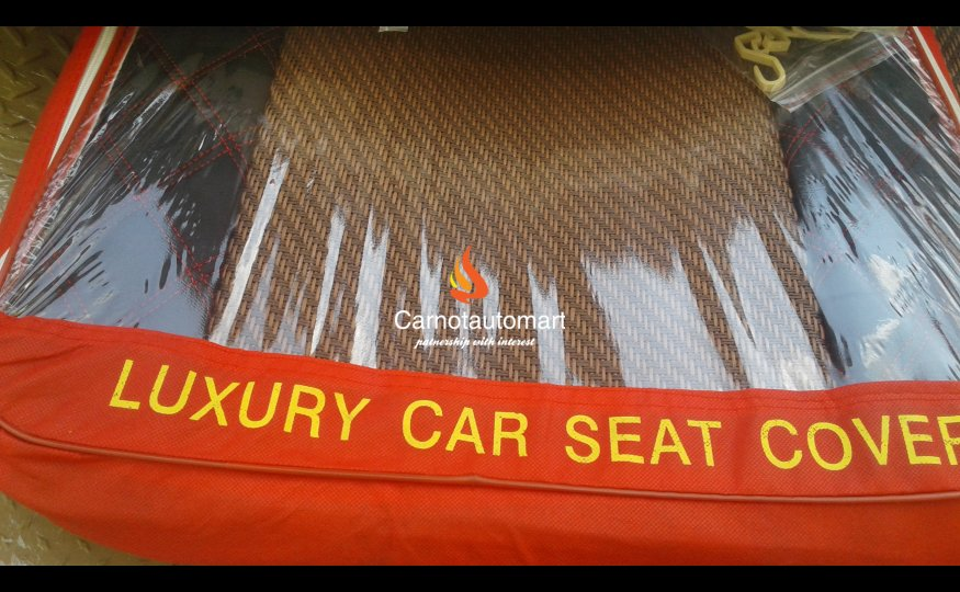 LUXURY CAR SEAT COVER-