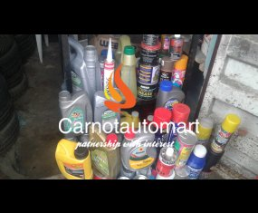 CAR LUBRICANT AND SPRAY