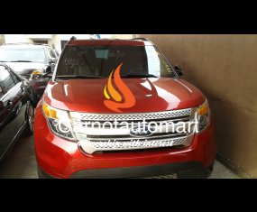 RED FORD EXPLORER 2011 AT SURULERE LAGOS
