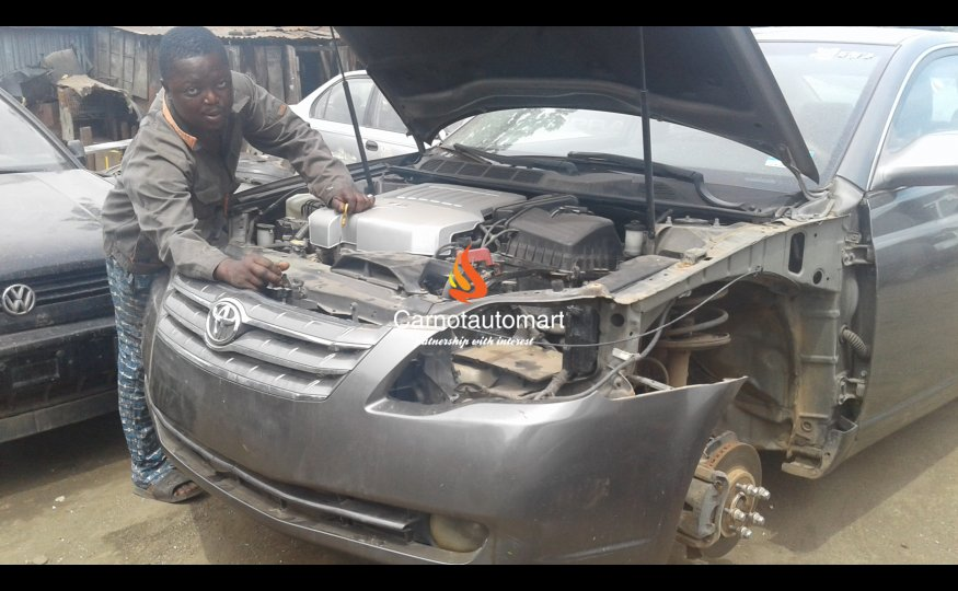 AUTO PANEL BEATING WORK IN NIGERIA
