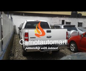 WHITE FORD F150 TRUCK 2007