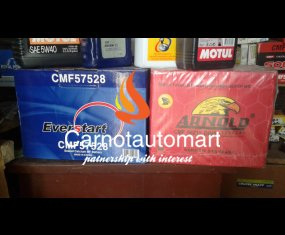 EVERSTART AND ARNOLD 62AH BATTERY FOR ALL KINDS OF CARS